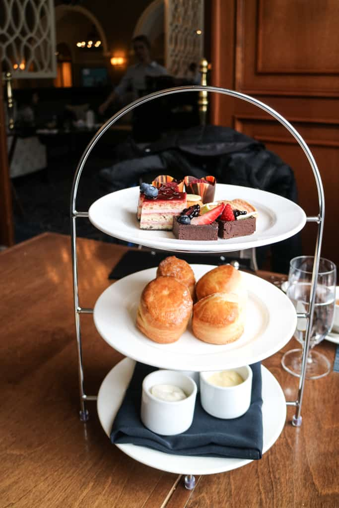 Afternoon Tea at Fairmont Chateau Lake Louise in the Canadian Rockies