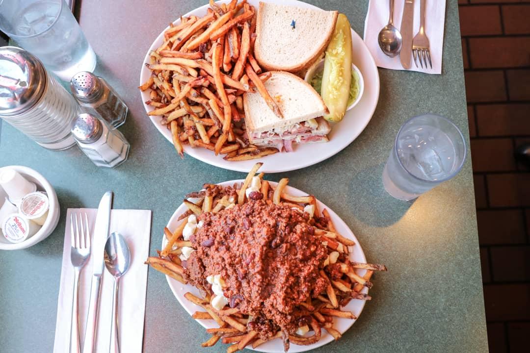 Elgin Street Diner in Ottawa, Ontario