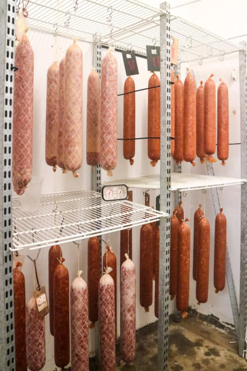 Spragg's Meat Shop, Alberta, Canada