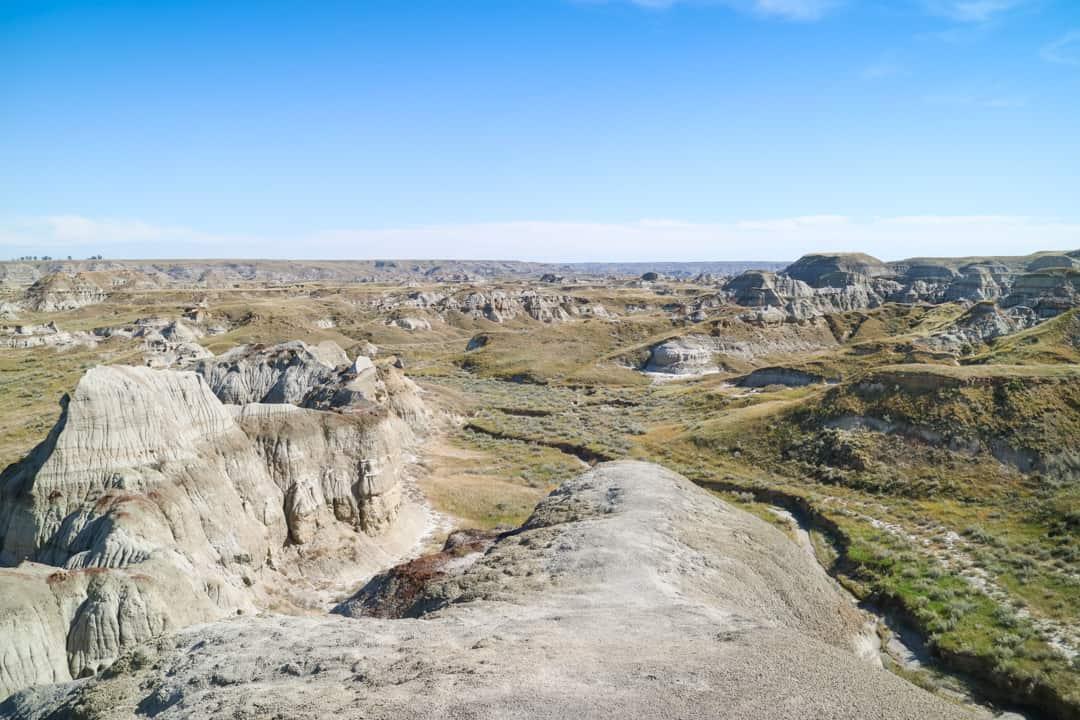 Dinosaur Provincial Park, Alberta, Canada. A UNESCO World Heritage Site