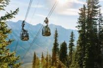 New Banff Gondola Summit