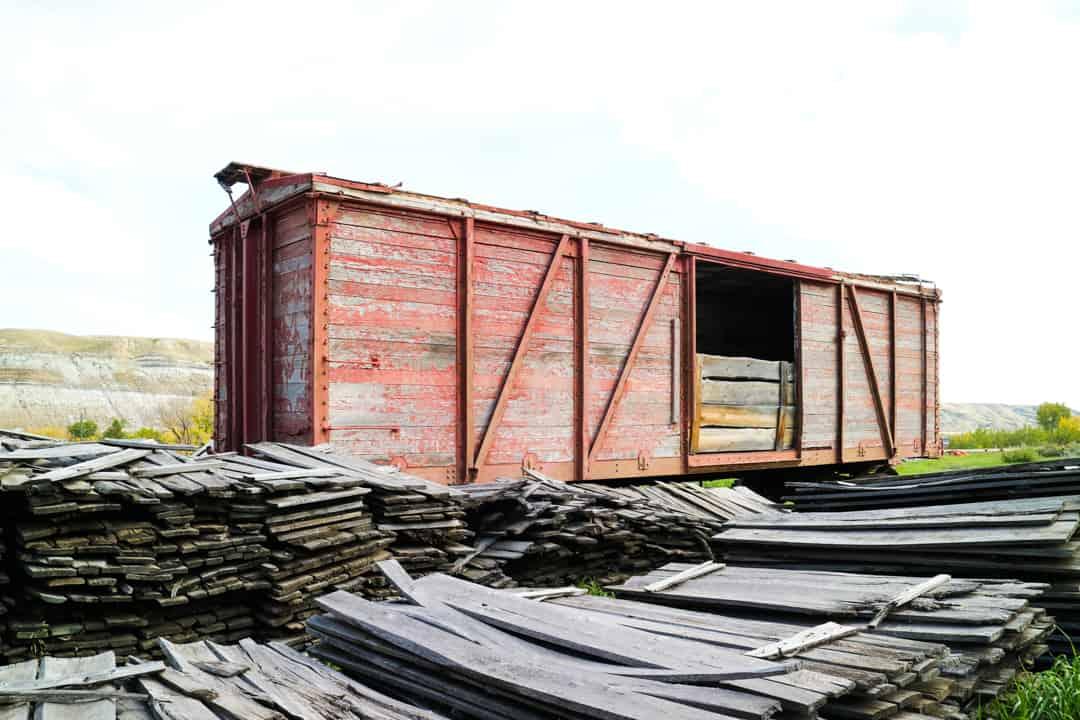 Atlas Coal Mine National Historic Site, Drumheller, Alberta, Canada