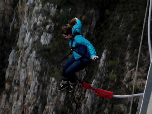 Adventure for adrenaline seekers: Bungy Jumping, Bloukrans Bridge, South Africa
