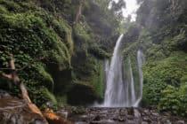 Tiu Kelep Waterfalls, Mt. Rinjani, Lombok, Indonesia