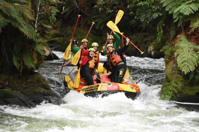 Adventure for adrenaline seekers: Rafting Rotorua New Zealand
