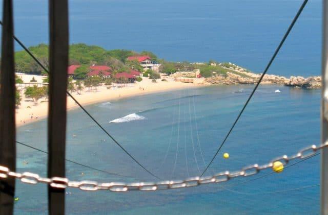 adventure for adrenaline seekers: zipline, labadee, haiti