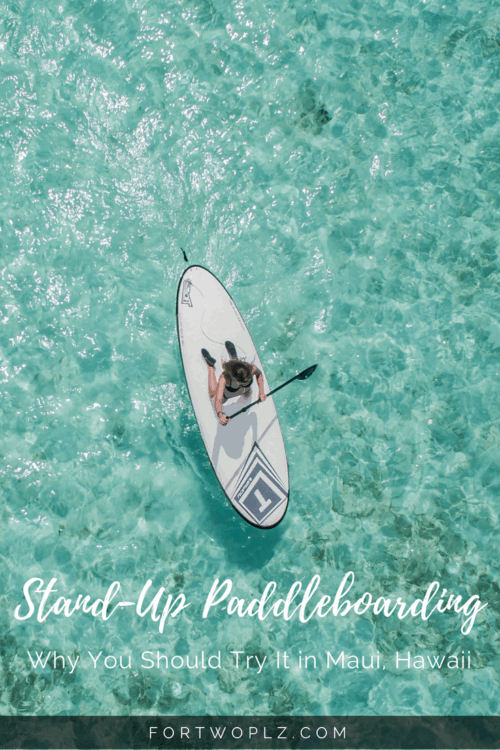 Stand up paddleboarding is a relaxing way to explore Maui, Hawaii. It's loads of fun, a great workout, and most importantly, anyone can do it because it's easy to learn.