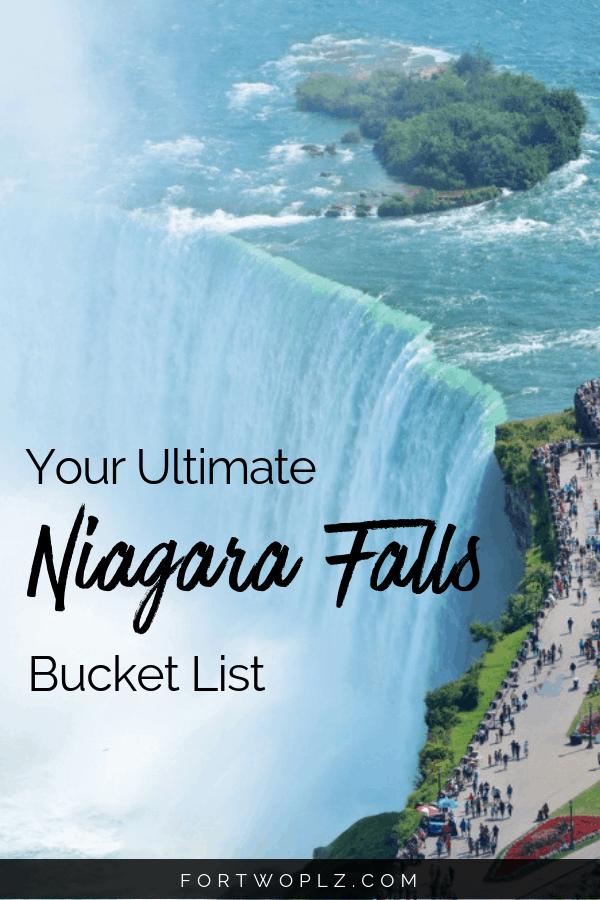 Niagara Falls Bucket List
