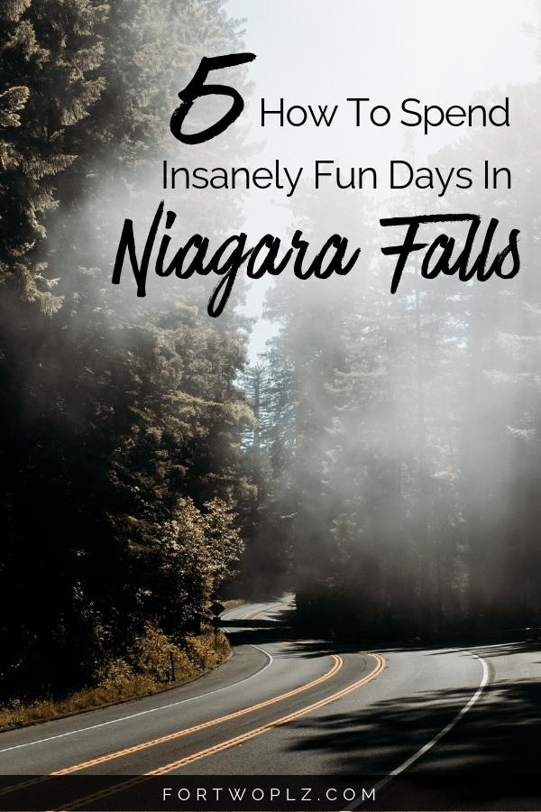 5 days road trip to Niagara Falls