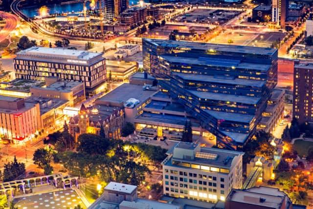 Calgary City Night