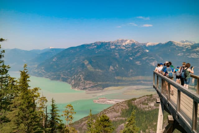 Chief Lookout Platform at Sea to Sky Gondola, Squamish