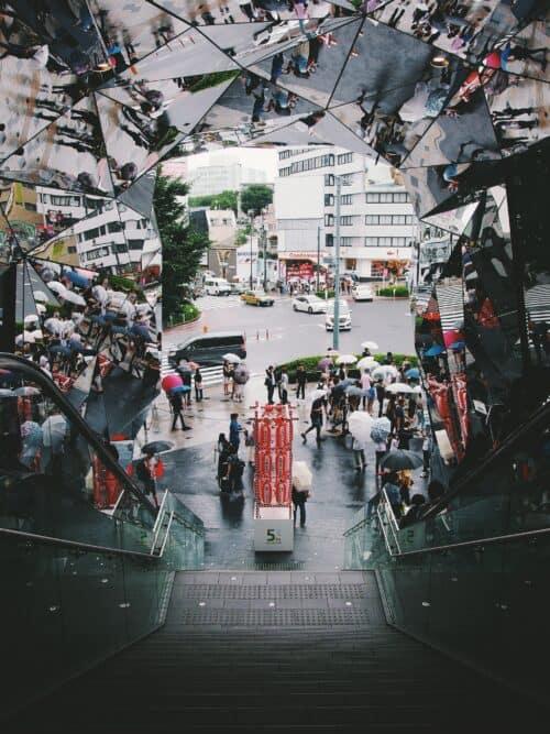 tokyu plaza omotesando tokyo japan