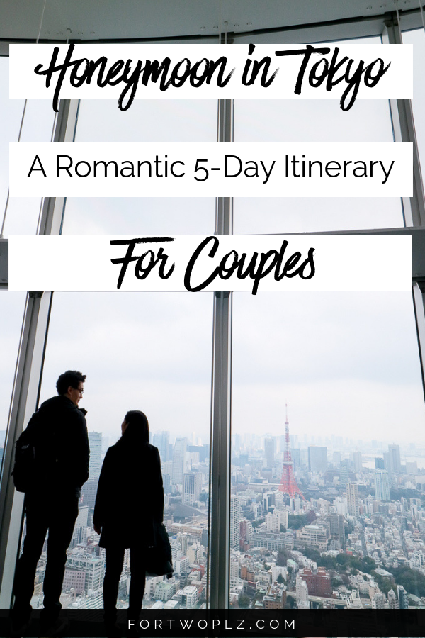 5 day tokyo itinerary for couples