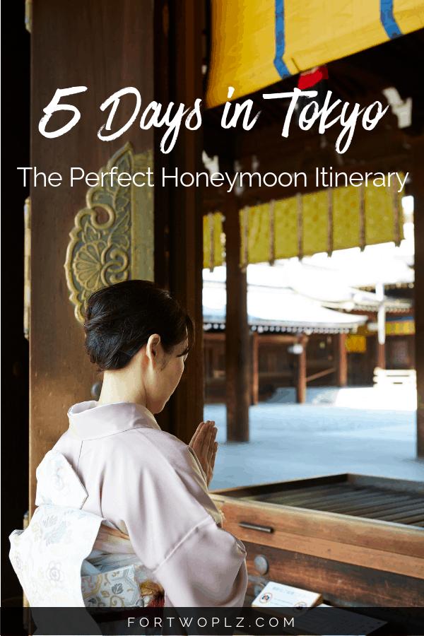Honeymoon Tokyo 5 days Itinerary