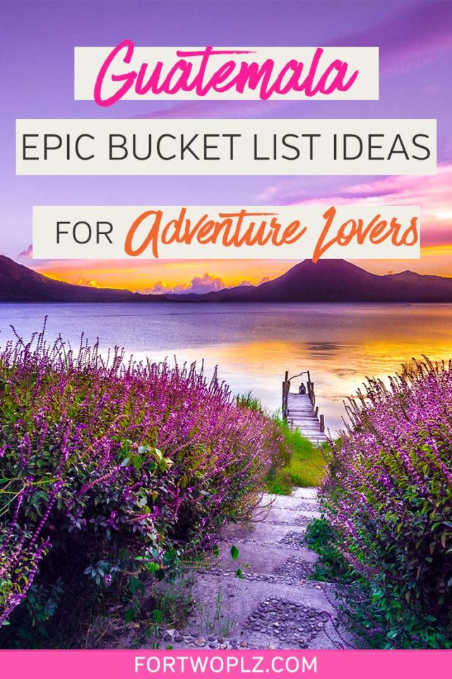 Guatemala is a top travel destination in Central America for adventurous travellers. From hiking active volcanoes to visiting Tikal (the ancient Maya ruins), adventurers are spoilt for choice. Here are a list of fun things to doinGuatemalathat explore some of the most beautiful parts of the country!#guatemalatravel #centralamerica #travel