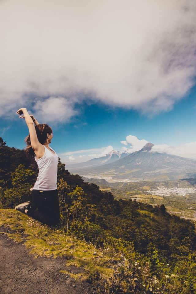 Hike up to the summit of Pacaya Volcano, Guatemala