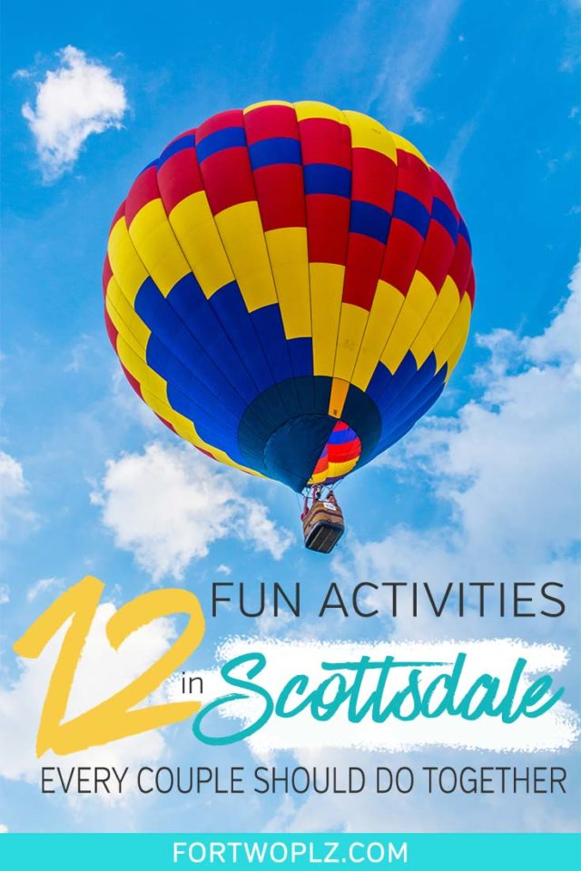Scottsdale, Arizona is a fantastic place for a wintergetaway. The city offers plenty of fun for young travellers, from golfing, cafe hopping, hiking to luxury spa. Here are 12 incredibly fun things to do in Scottsdale for couples. Click through to discover the top attractions, instagrammable cafes, best restaurants, and the most luxury hotels in Scottsdale! #explorearizona #scottsdale #travel