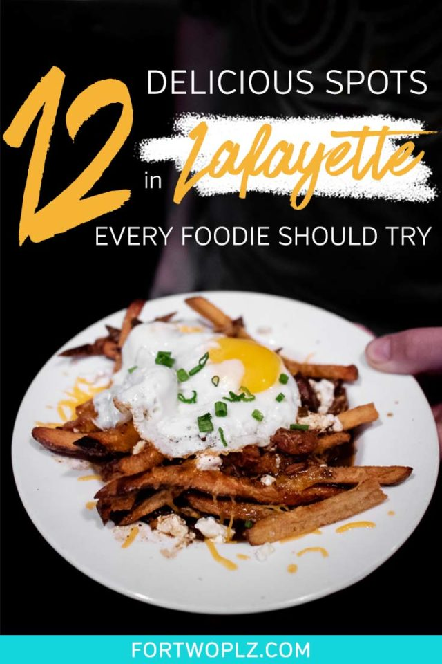 Planning a foodie road trip to Lafayette, Louisiana? The city filled with so many tasty food spots to try. Besides having unbelievably great Creole and Cajun food, like boudin, crawfish etoufee, gumbo and jambalaya, Lafayette has amazing local breweries! This post highlights the must-try foods in Louisiana and best places to eat in Lafayette, Louisiana.  #explorelouisiana #foodietravel #usaroadtrip