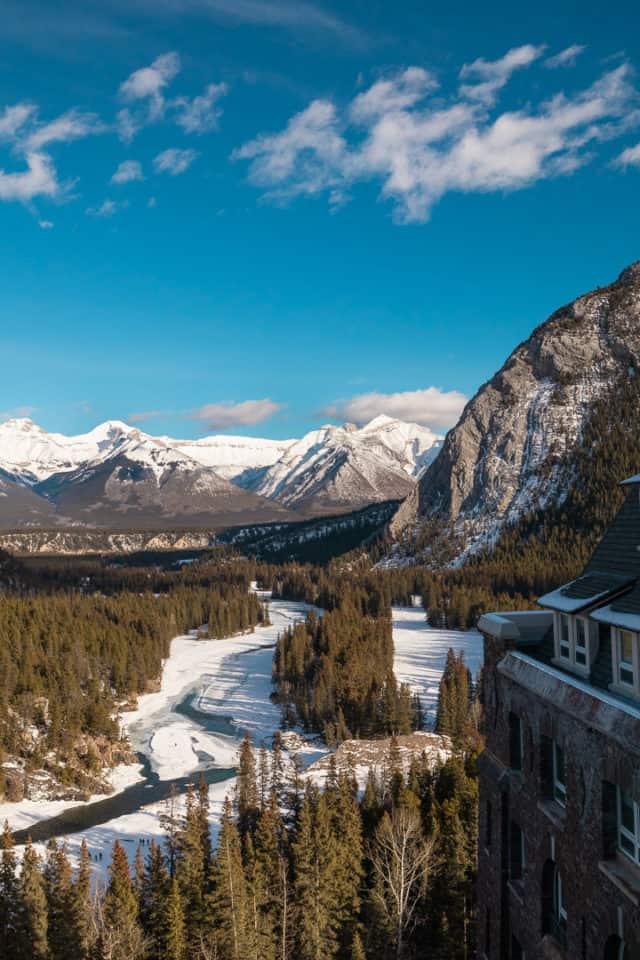 Winter Banff Canada