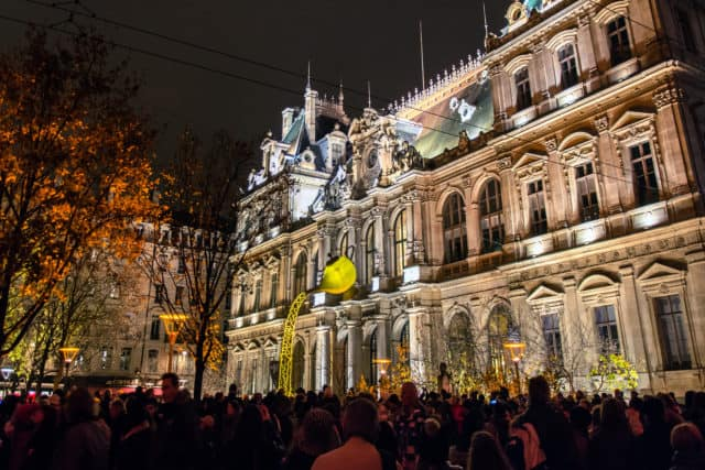 Festival of Lights in Lyon France