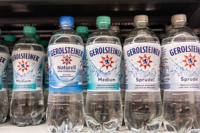 Still Sparkling Water Hamburg Germany
