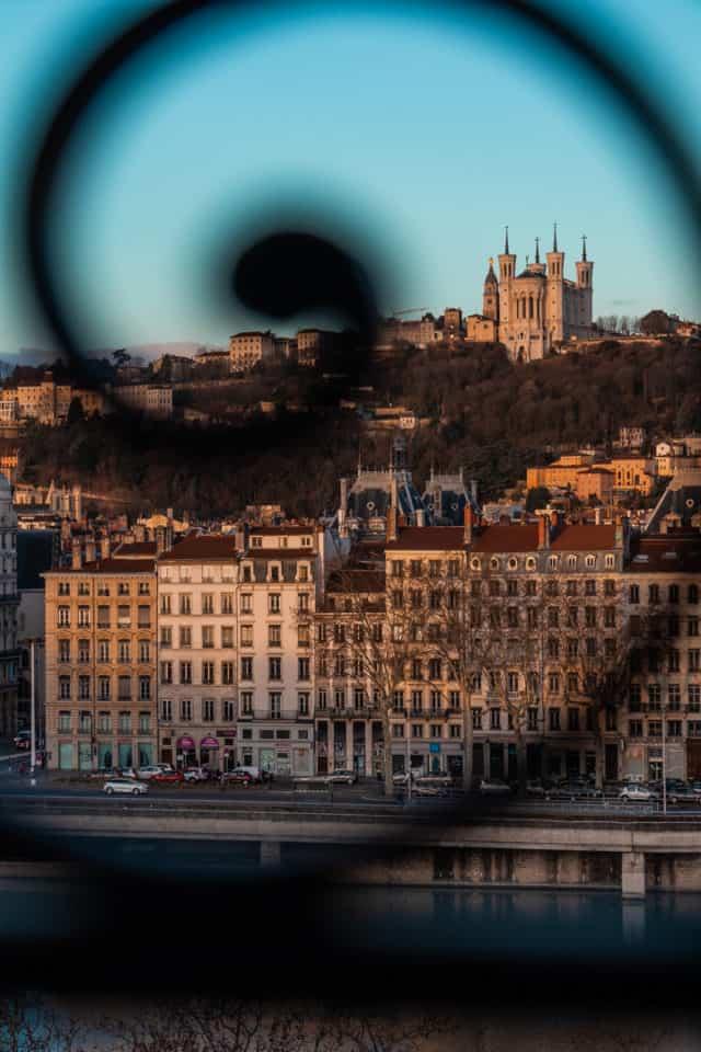 La Basilique Notre Dame de Fourvière Lyon France