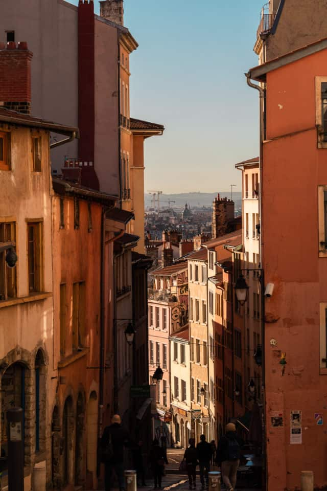 Croix-Rousse Lyon France