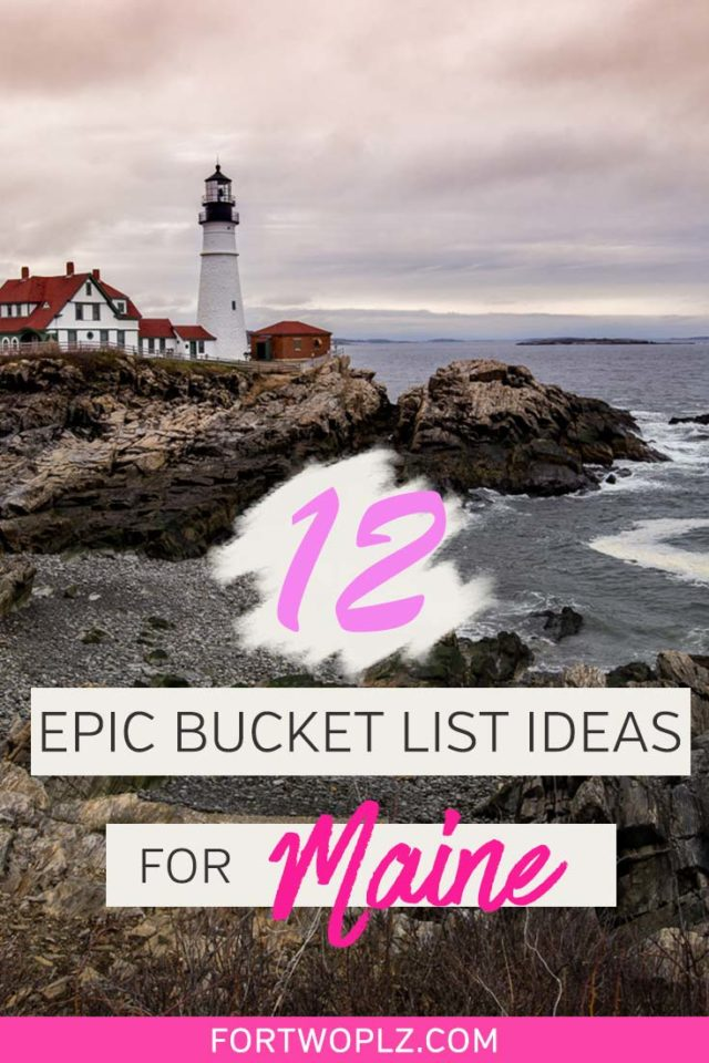 Planning your first Maine road trip? This New England state has so much to offer. From lighthouses to lobster catching to whale watching, Maine will amaze you in so many different ways. Click to discover bucket list ideas for your next Maine road trip. #roadtrip #newengland #usatravel #summertravel