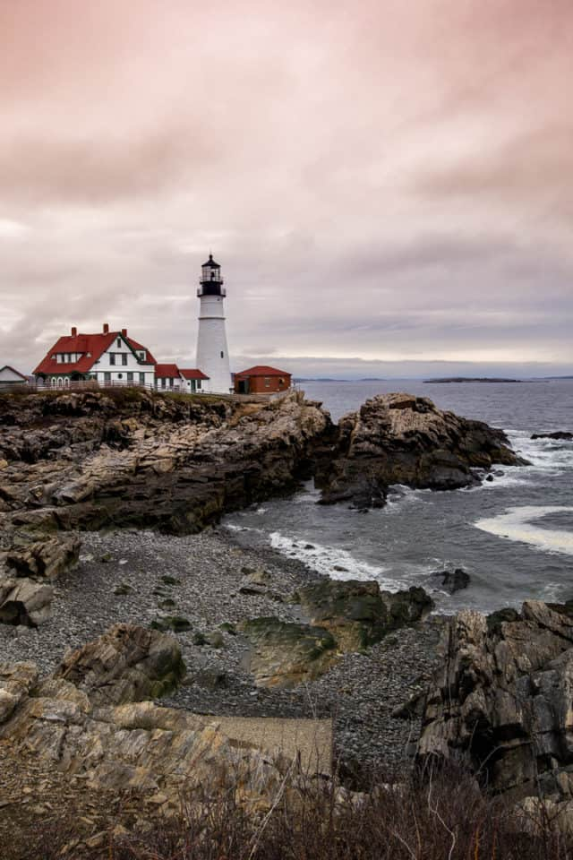 Lighthouses Maine Road Trip Itinerary