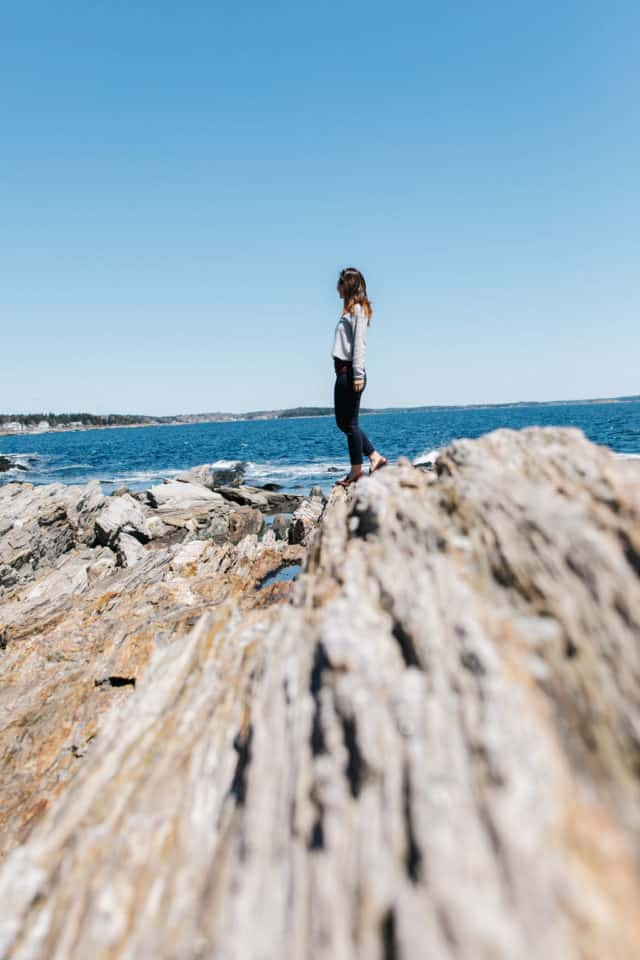 Giant's Stairs in Harpswell Maine