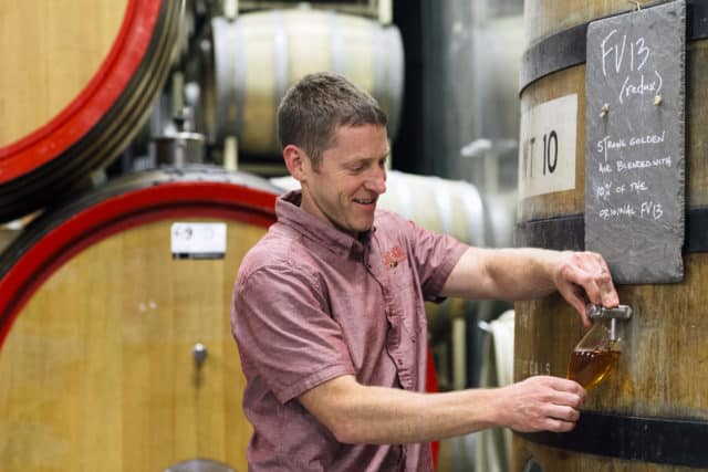 Allagash Brewing Brewmaster Jason Perkins
