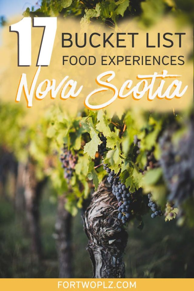17 FOOD EXPERIENCES to add to your NOVA SCOTIA road trip