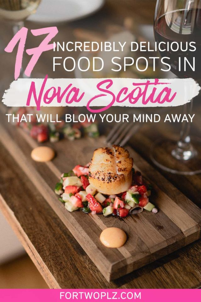 FOOD SPOTS NOVA SCOTIA