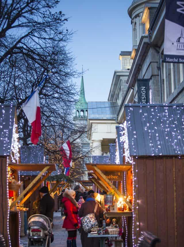 Downtown Montreal Christmas