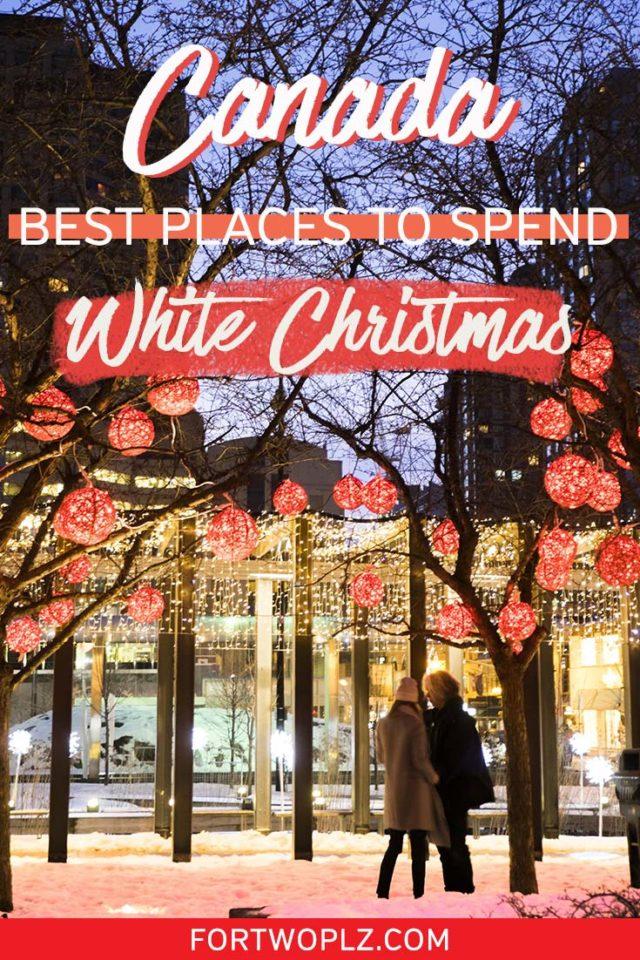 Canada White Christmas