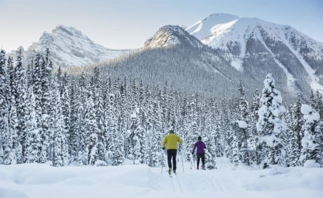 Cross Country Skiing at Lake Louise