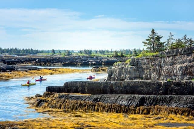 Blue Rocks South Shore Nova Scotia Landscapes