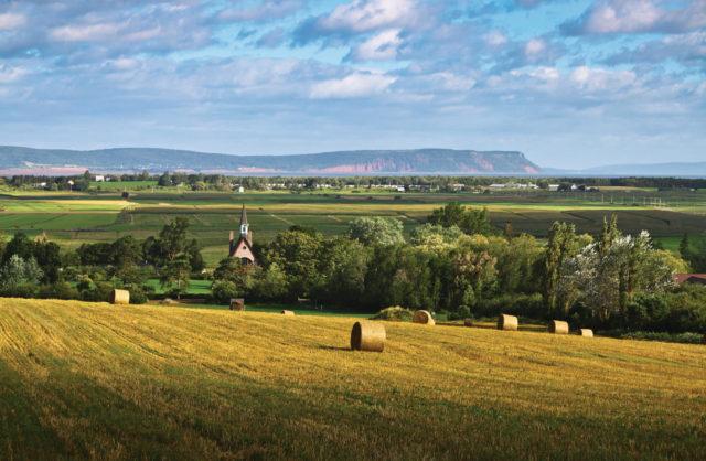 Landscape of Grand Pre Nova Scotia National Historic Site