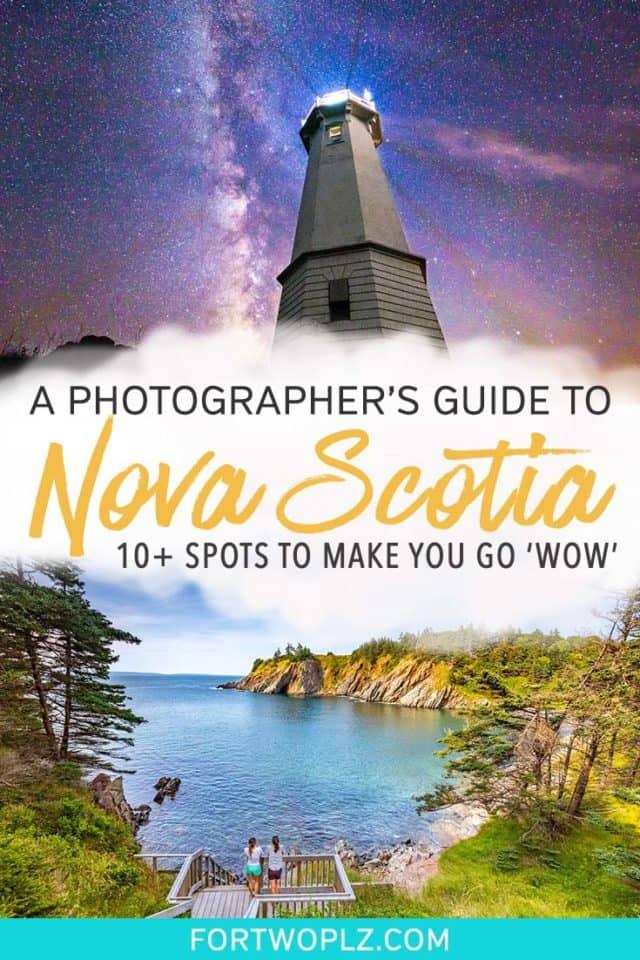 Nova Scotia Photographer Guide