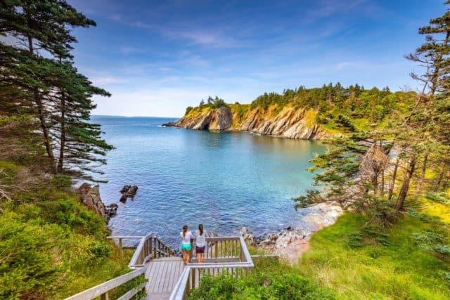 Smugglers Cove Best Views in Nova Scotia