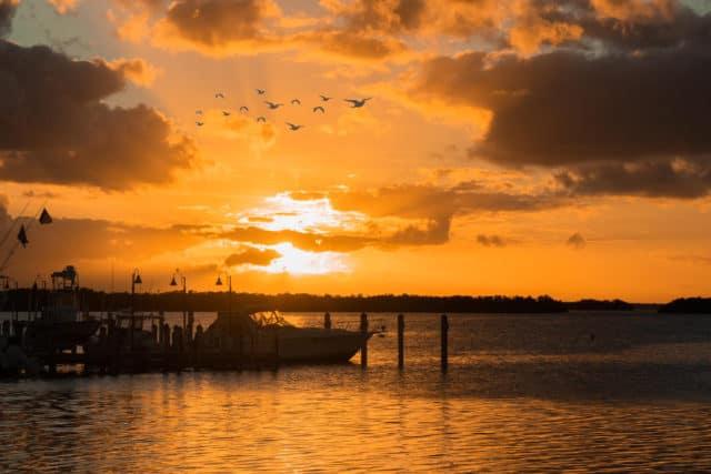 sunset at islamorada