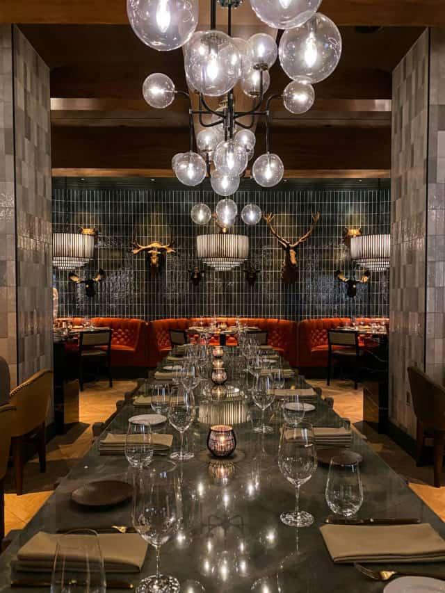 Braven Restaurant JW Marriott Edmonton Ice District