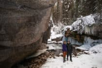 Maligne Canyon Tours Jasper Winter