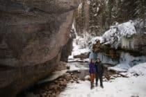 Maligne Canyon Tours Jasper Winter