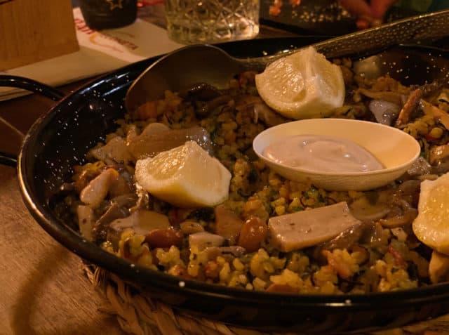 Paella Barcelona Food