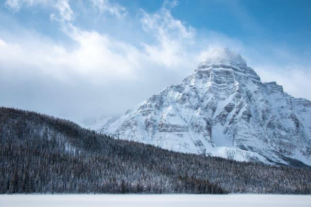 Road trip to Jasper in the winter
