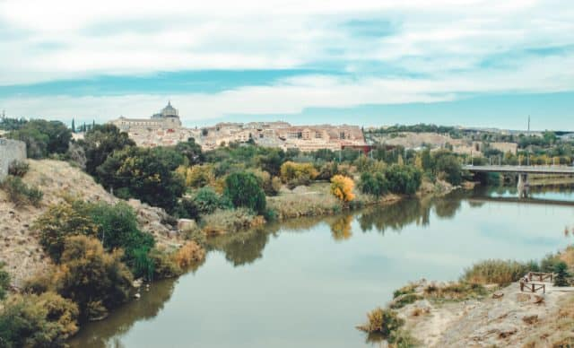 river view of Toledo one of the prettiest cities in Spain