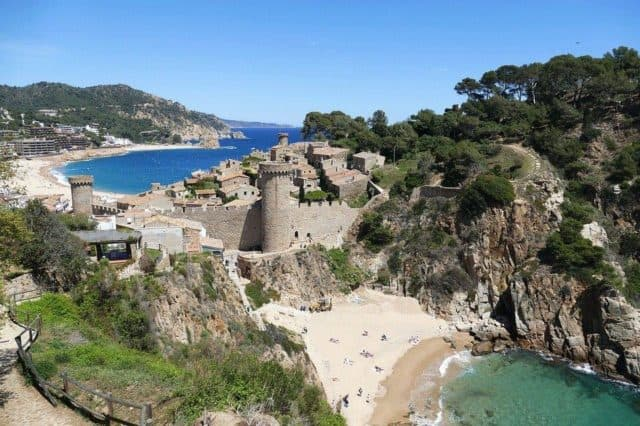 tossa de mar Spain coastal cities
