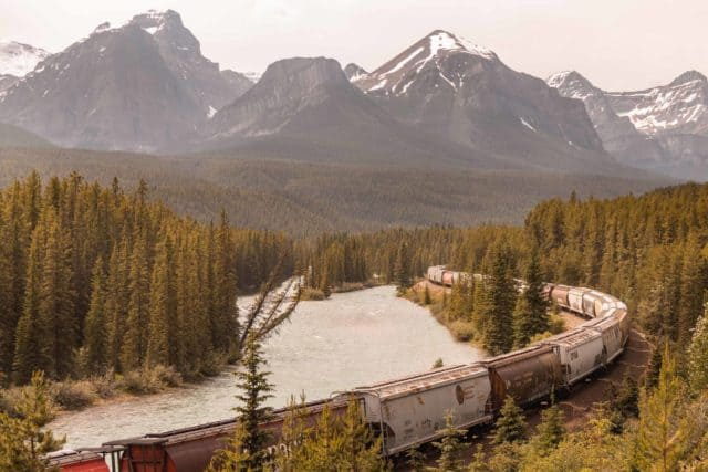 Banff National Park Photo Spots Morants Curve