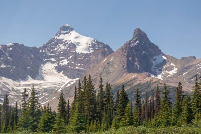 Jasper National Park Canadian Rockies Mountain Landscape